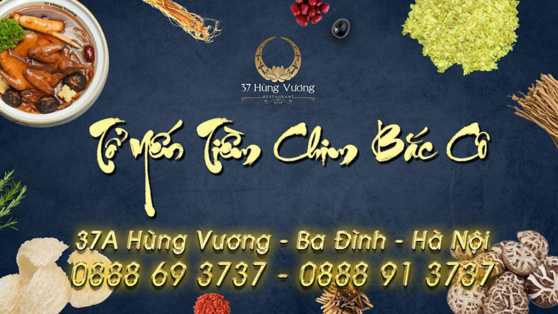 Món ngon chuẩn vị cung đình tại nhà hàng 37A Hùng Vương